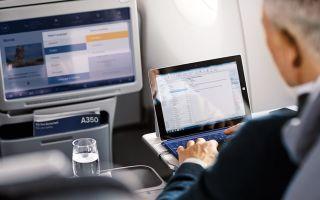 Интернет в самолете: сколько стоит и как подключить