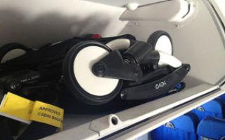 Коляска в самолет: правила и нюансы