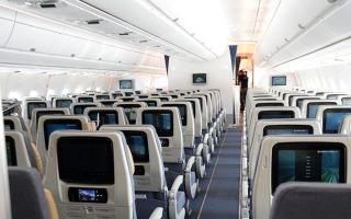Какие места в самолете самые безопасные