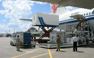 Перевозки спомощью воздушного транспорта