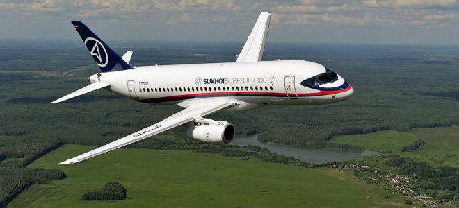 Обзор самолета Суперджет 100