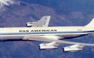 Обзор самолета Boeing 707