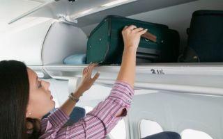 Правила провоза багажа и ручной клади в Аэрофлоте в 2019 году