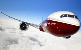 Обзор самолета Боинг 777х