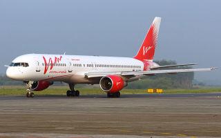 Схема салона и лучшие места в самолете Boeing 757-200