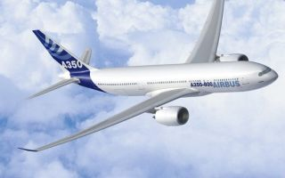 Характеристики, схема, история самолета Аэробус А350