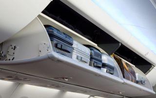 Правила провоза ручной клади в самолете