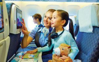 Стоимость и условия сопровождения ребенка в самолете