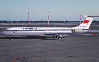 Обзор самолета Ил-62