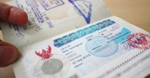 Виза ран в тайланде 2020